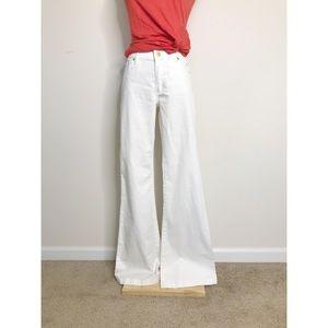 Michael Kors White Flared Jeans